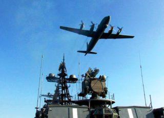 Военно-морской полигон. Учения